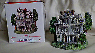 "Liberty Falls~""haunted House"" Ah227~Western Christmas Snow Village Figure"
