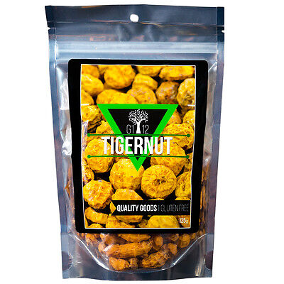 Tigernuts - It's not a NUT !!  raw, natural, vegan, paleo ( 125g / 227g )