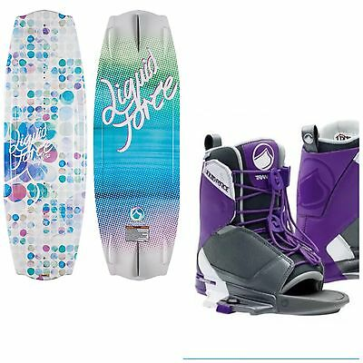 Brand New Women's Liquid Force Wakeboard package
