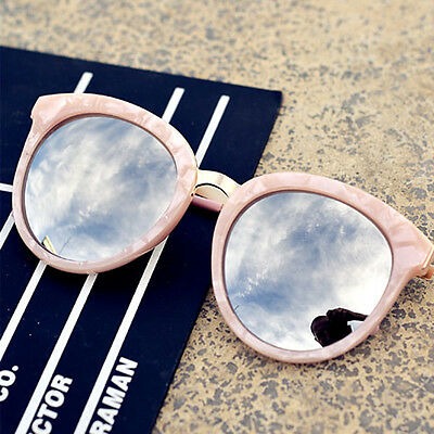 New Women Classic Outdoor Shell Frame Round Eyewear Driving Polarized Sunglasses