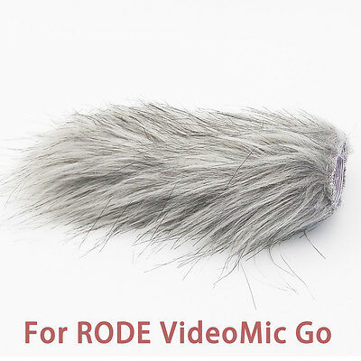 DeadCat Artificial Fur Wind Shield Windscreen for Rode VideoMic Go windshield