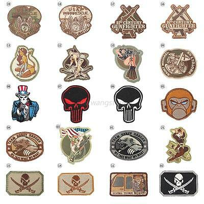 21Styles 3D Army Military Embroidered Sew-on Patch Armband Badge Tactical Tool
