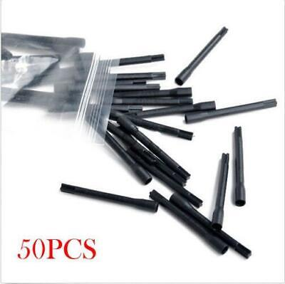 50pcs Mixing Sticks Mixer 3.5 cm Wholesale Plastic Tattoo Ink Pigment Black R