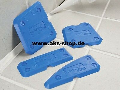 Joint smoothener Set 4 piece from Powerfix - Grout made easy - for Tile