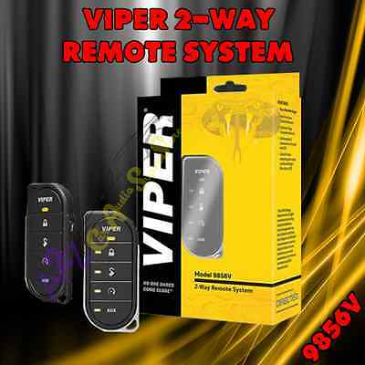 Viper 9856V 2 Way Remote Control 1 Mile Range For Directed Car Start Systems