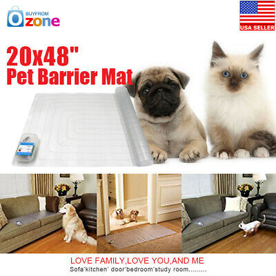"20x48"" Electronic Pet Training Pad Dog Cat Barrier Repellent Shock Scat Mat"