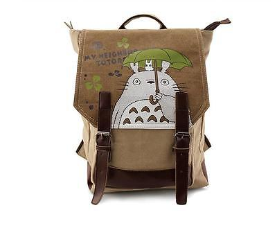 Neu My Neighbor Totoro Anime Manga Rucksack Tasche Back Bag 40x29x15cm A7
