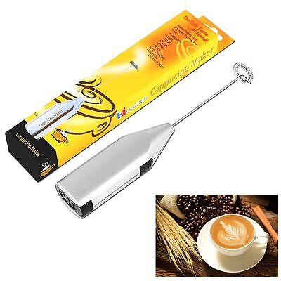 New Cordless Handheld Chocolate Milk Frother Foamer Maker Cappuchino Latte Coffe