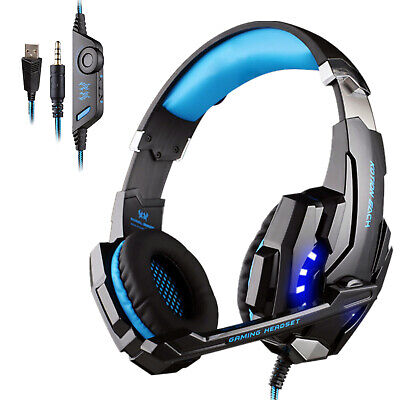EACH G9000 Pro Gaming Headset 3.5mm Surround Headphone w/Mic for PS4 Xboxone PC