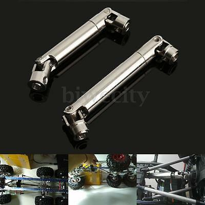 Stainless Steel Universal Drive Shaft 90~115/110~155mm for rc crawlers D90 SCX10