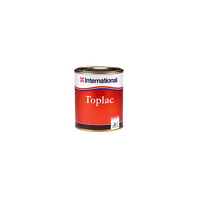 PEINTURE TOPLAC ROUGE BOUNTY 350 0.75L LAQUE MONO - INTERNATIONAL alciumpeche
