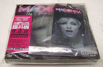 MADONNA- Confessions Tour - DVD + CD + PASS VIP TOUR - LTD ED -   sealed  mint