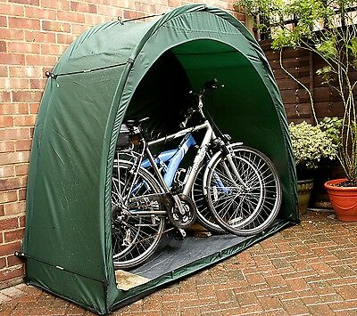Bike Cave Tidy Tent Cover Bicycle Outdoor Storage Garden Shelter Canopy Shed NEW