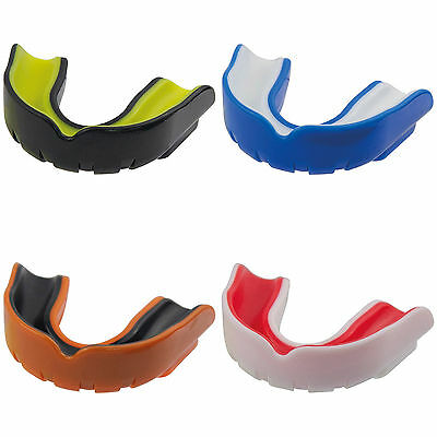 Childrens Adults Gumshield - Safegard Mouthguard - Gel Comfortable Mould