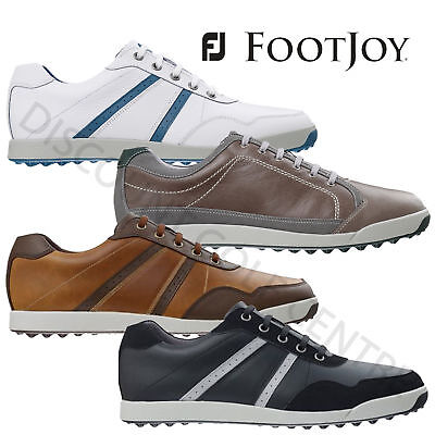 FootJoy Men's Contour Casual Golf Shoes Spikeless Medium & Wide 2015