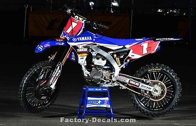 Yamaha Cooper Webb YZF YZ WR 125 250 450 Graphics Decals any year 1990-present