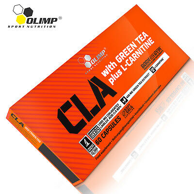 CLA with Green Tea and L-Carnitine 60/120 Caps Eliminates Cellulite Fat Burner