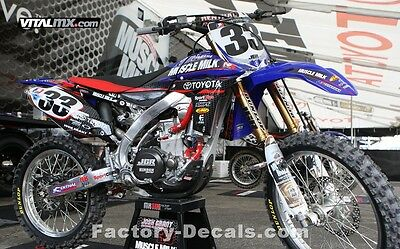 Yamaha Muscle Milk YZF YZ WR125 250 450 Graphics Decals any year 1990-present