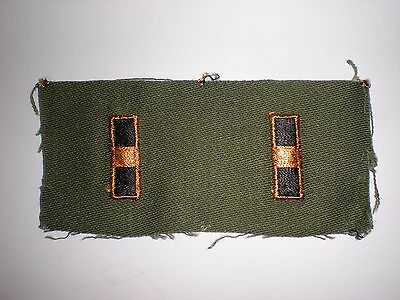 Us Army Vietnam Era Warrant Officer 1 Subdued Rank - 1 Pair