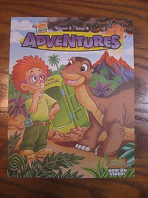 Burger King - Land Before Time - Adventures Leaflet - Vol. 8 Issue 4 - 1997
