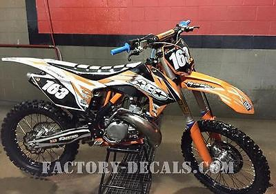 KTM AEO SXF SX EXC 125 250 350 450 Graphics Decals any year 1990-present