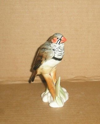 Ens Bird Figurine Zebra Finch