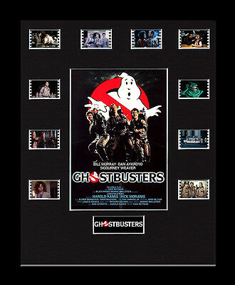 Ghostbusters - Framed 35mm Mounted Film Cells -10 Cell Display memorabilia