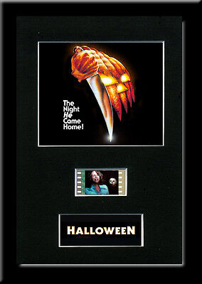 Halloween Framed 35mm Mounted Film cells - filmcell movie