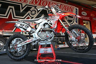Honda Landen Powell crf cr 125 250 450 Graphics Decals any year 1990-present