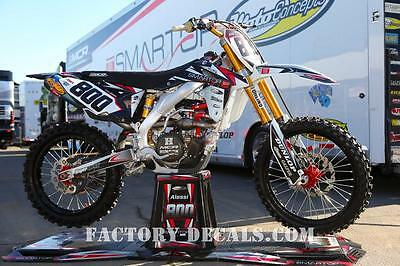 Honda Mike Alessi crf cr 125 250 450 Graphics Decals any year 1990-present