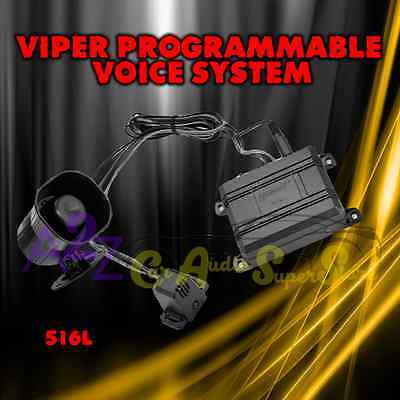 Talking Voice Alarm Module For Viper Clifford Python Avital Invisibeam