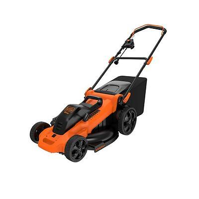 BLACK & DECKER 20 in. 13 Amp Corded Electric 7-setting Height Adjust Lawn Mower