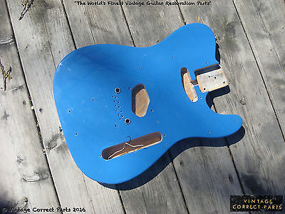 Vintage 1969 Fender Telecaster Body Project Transition Tele PROJECT 1968 1970 71