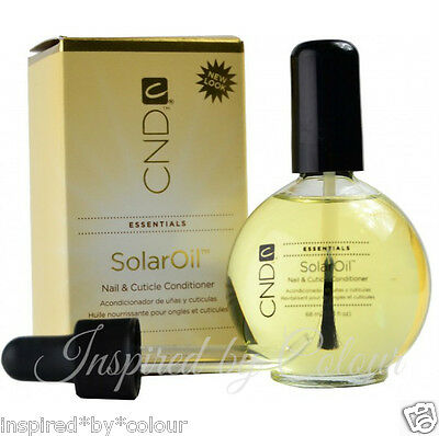 CND Solar Oil Nail & Cuticle Conditioner ~ Select from *3.7ml *7.3ml *15ml *65ml