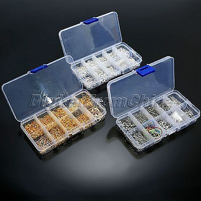 Wholesale Jewelry Making Starter Kits Ball Head Pins Lobster Clasps Chain Tools