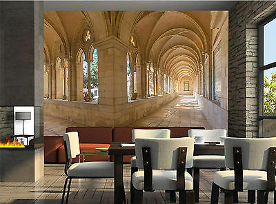 The Gothic Corridor  Wall Mural Photo Wallpaper GIANT DECOR Paper Poster