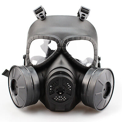 MSA Gas Mask Double Filter Fan CS Edition Perspiration Dust Face Guard MA-85 New