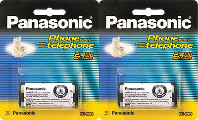 2x Panasonic HHR-P105 A Type 31 2.4V 830mAh Cordless Phone Battery CTB79