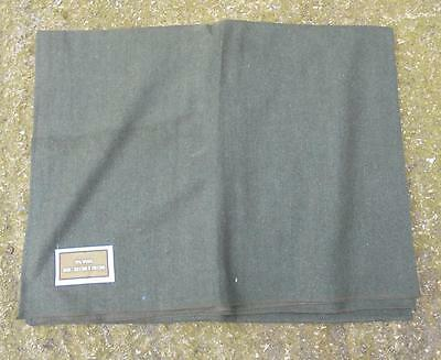 US Army Style Military Olive Green Woollen Blanket