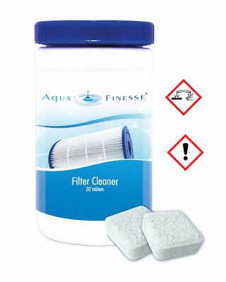 AquaFinesse Filter-Cleaner Tabletten Filter-Reiniger Filter-Reinigungstabletten
