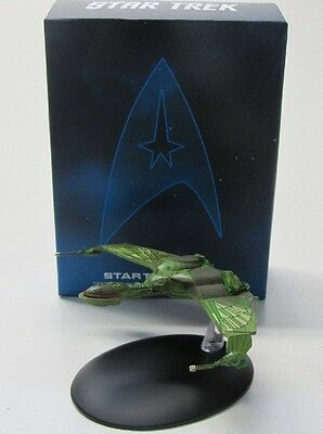 Star Trek Raumschiff ( Bird of Prey ) 9 cm x 14 cm / mit Heft