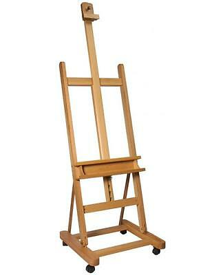 Mont Marte Large Studio Easel with Castors and Tilt - MCG0010C