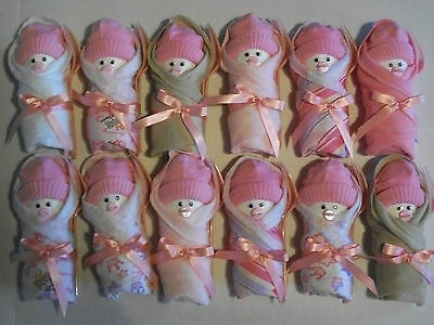 Pink Brown White Princess Little Swaddlers Dirty Diaper Game Baby Shower Favors