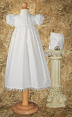 NWT Girls Gown PC20GS Polycotton  Lace Christening Blessing 70% Off Closeout