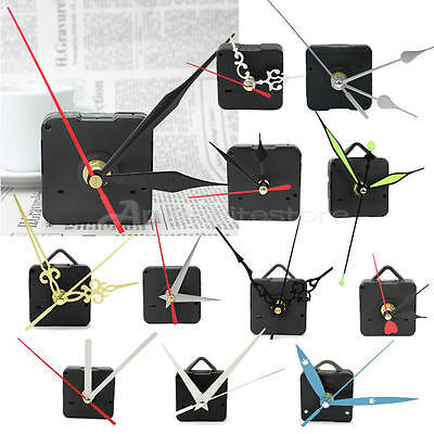 Hot Quartz Wall Clock Movement Mechanism Repair Parts Kit With 3 Hands DIY Craft