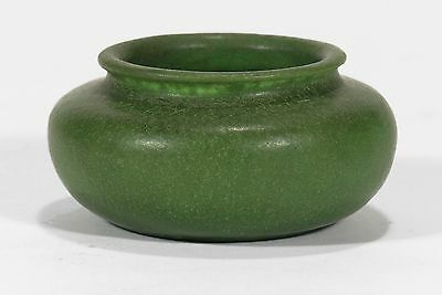 Grueby Pottery matte green cabinet vase urn Arts & Crafts Boston