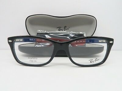 fbec172a19f RAY-BAN BLACK GLASSES New with case RB 5228 5544 55mm
