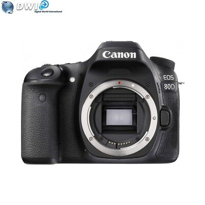 Brand New Canon Eos 80D Digital Slr Camera Body Only 24.2Mp Full Hd Video