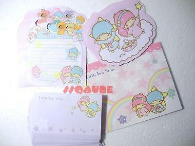 Sanrio Little Twin Stars 12 Constellations Letter Set, 40 Papers + 21 Envelopes