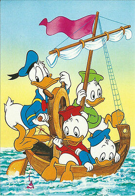 CPM - Disney Postcard - DONALD AND ITS NEPHEWS - Postcard